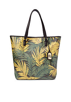 Ralph Lauren Amberly Palm Dalia Tote