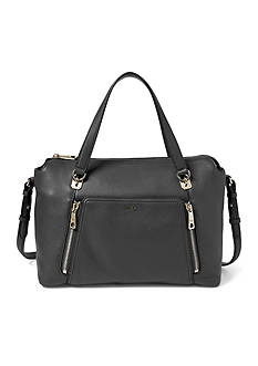 Ralph Lauren Pebbled Leather Satchel