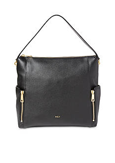 Ralph Lauren Arley Ramira Leather Hobo Bag