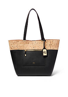 Lauren Ralph Lauren Lauryn Faux-Leather Tote Bag