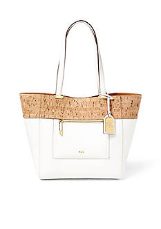 Ralph Lauren Lauryn Faux-Leather Tote