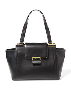 Ralph Lauren Lynwood Medium Leather Shopper