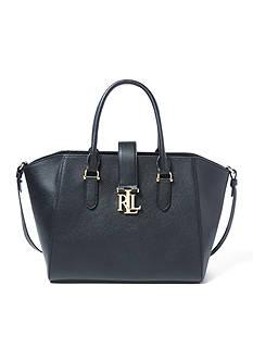 Lauren Ralph Lauren Carrington Leather Shopper