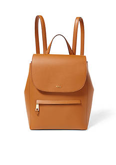 Lauren Ralph Lauren Dryden Medium Leather Backpack