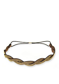 Riviera No Slip Twisted Stud Head Wrap