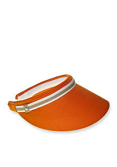 Nine West Canvas Clip-On Visor