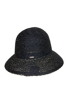Nine West Braided Sheer Cloche Hat