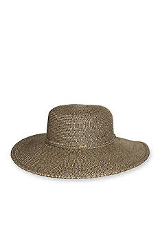 Nine West Packable Metallic Floppy Hat