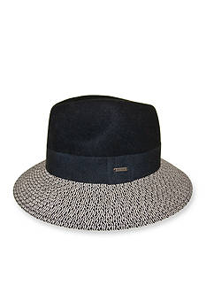 Nine West Felt and Straw Rancher Hat