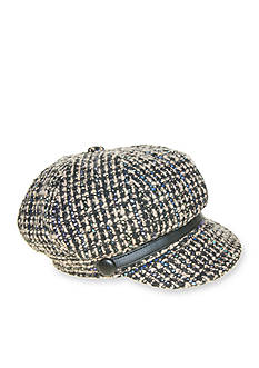 Nine West Speckled Newsboy Cap