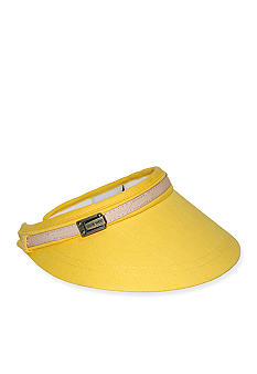 Nine West Canvas Clip On Visor
