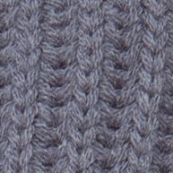Womens Hats: Grey New Directions CHUNKY KNIT CABBY - WITHOUT FLOWER