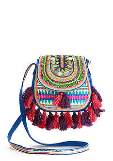 Big Buddha Moroccan Summer Flap Crossbody Bag