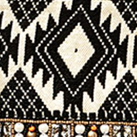Handbags & Accessories: Big Buddha Handbags & Wallets: Black Multi Big Buddha Beaded Tote