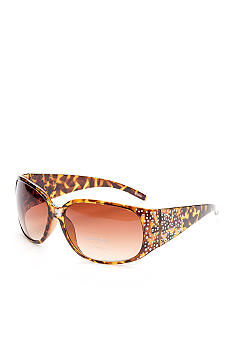 Red Camel Rectangle Bling Sunglasses