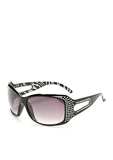 Red Camel Square Bling Over Animal Sunglasses