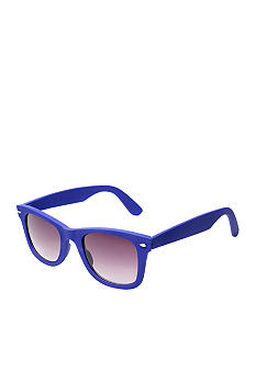 Red Camel Matte Rubberize Blue Sunglasses