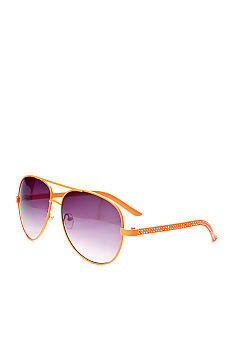 Red Camel Metallic Aviator Sunglasses