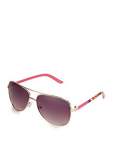 Red Camel Pink Floral Aviator Sunglasses