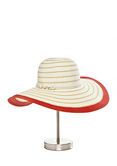 Calvin Klein Striped Nautical Hat