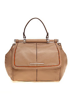 Calvin Klein Orchard Leather Satchel