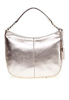 Calvin Klein Key Item Leather Hobo