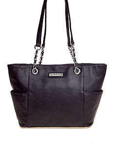 Calvin Klein Key Item Pebble Leather Tote