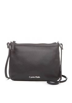 Calvin Klein Key Item Leather Crossbody