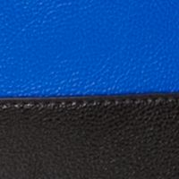 Handbags and Wallets: Royal Blue/Black Calvin Klein Novelty PVC Reversible Tote