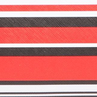 Designer Calvin Klein Purses: Black Red Multi Calvin Klein Key Item Tote