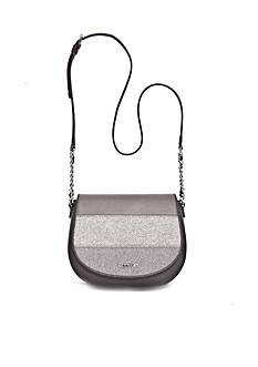 Calvin Klein Key Items Saffiano Saddle Bag