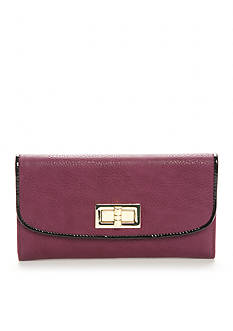 New Directions Pebble Patent Checkbook Clutch