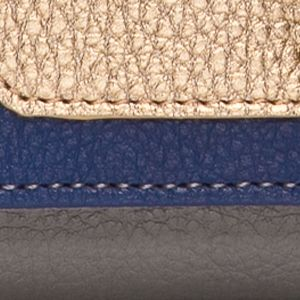 Handbags & Accessories: New Directions Handbags & Wallets: Grey/Blue New Directions Checkbook Clutch