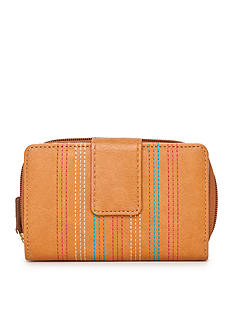 New Directions Colored Stitch Getaway Wallet