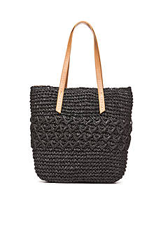 New Directions Straw Tote