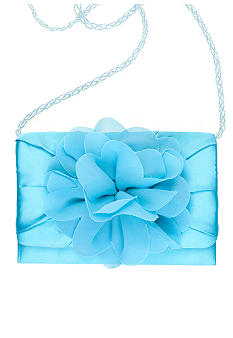 Nina Lupe Satin Clutch