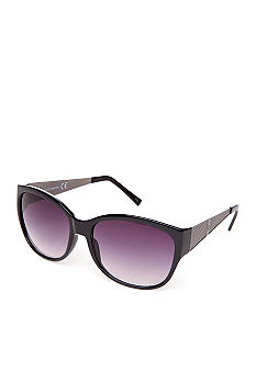 Vince Camuto Large Cat with Metal Temples Sunglasses