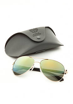 Vince Camuto Flash Lens Aviator Sunglasses