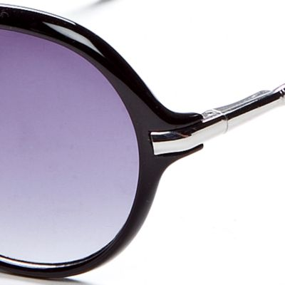 Handbags & Accessories: Vince Camuto Designer Sunglasses: Black Vince Camuto Oval Glam Sunglasses