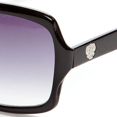 Handbags & Accessories: Vince Camuto Designer Sunglasses: Black Vince Camuto Plastic Glam Sunglasses