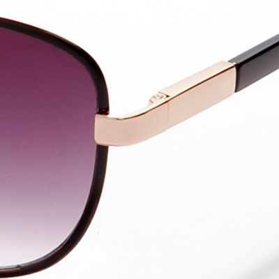 Handbags & Accessories: Vince Camuto Designer Sunglasses: Black Vince Camuto Teardrop Aviator Sunglasses