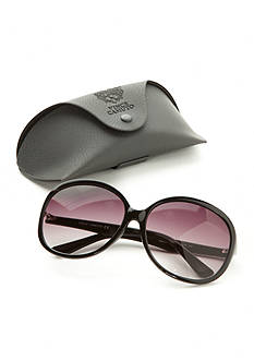 Vince Camuto Oversized Plastic Glam Sunglasses