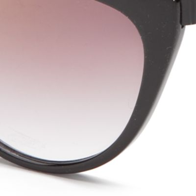 Cat Eye Sunglasses: Black Vince Camuto Ombre Cat Eye Sunglasses