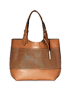 Vince Camuto Perforated Tote