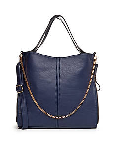 New Directions® Side Zip Multi Chain Tote