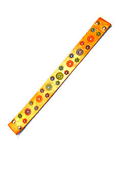 Katie Kalsi Multi Color Embossed Strap