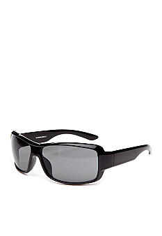 Saddlebred Black Wrap Sunglasses
