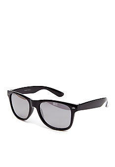 Saddlebred Black Mirrored Sunglasses