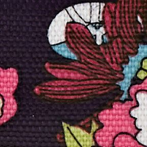 Handbags & Accessories: Sakroots Handbags & Wallets: Violet Flower Power Sakroots Artist Circle Large Wallet