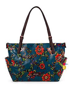 Sakroots Artist Circle Top Zip Satchel